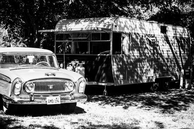 cestovní karavan