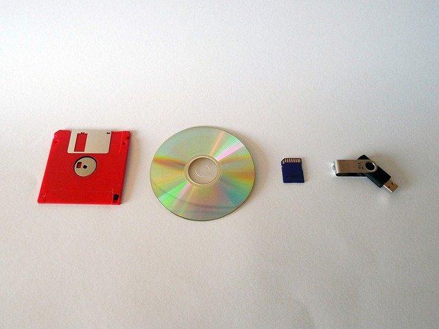 Elektro nosiče informací